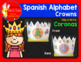 Spanish Preschool Alphabet Crowns