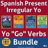 Spanish Present Irregular Yo Go BUNDLE. Presente de Verbos Irregulares en Yo