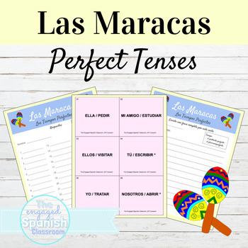 Spanish Present and Past Perfect Maracas Activities