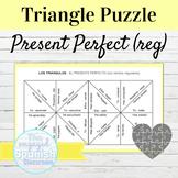 Spanish Present Perfect Tense Regular Verbs Conjugation Puzzle