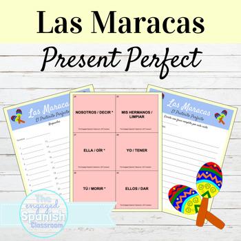 Spanish Present Perfect Indicative Maracas game: El Preterito Perfecto