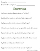 Spanish Present Perfect Speaking Activity