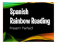 Spanish Present Perfect Stations