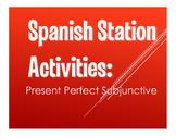 Spanish Present Perfect Subjunctive Stations