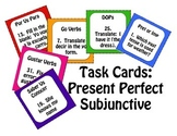 Spanish Present Perfect Subjunctive Task Cards
