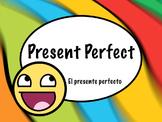 Spanish Present Perfect Grammar Tense PowerPoint Slideshow Presentation