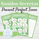 Spanish Present Perfect Tense Sonidos Secretos Speaking Activity