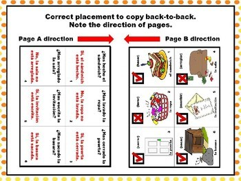 Spanish Present Perfect and Participles Pair Practice