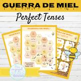 Spanish Present Perfect and Past Perfect Tense Games GUERRA DE MIEL