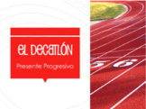 Spanish Present Progressive Decathlon