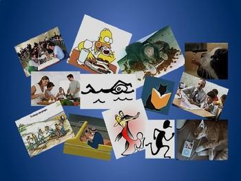 Spanish Present Progressive Memory Game
