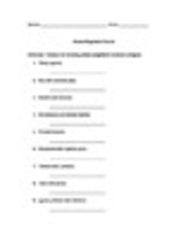 Spanish Present Progressive Worksheets Practice Pack