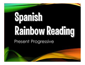 Spanish Present Progressive Stations