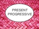Spanish Present Progressive Tense PowerPoint Slideshow Presentation