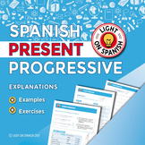 Spanish Present Progressive Unit