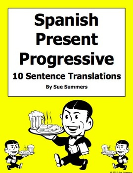 Spanish Present Progressive Vowel Stem and Stem Change Verbs