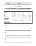Spanish Present Progressive Worksheets (El presente progresivo)