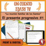 Spanish Present Progressive Writing Activity | Family | La