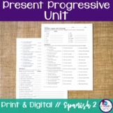 Spanish Present Progressive Bundle
