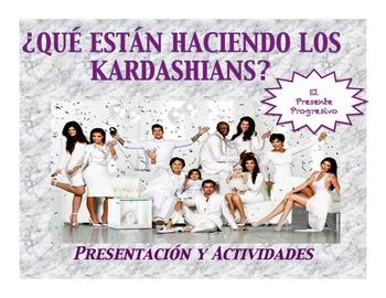 Spanish Present Progressive with the Kardashians Presentation