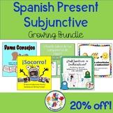 Spanish Present Subjunctive Growing Bundle