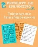 Spanish Present Subjunctive Practice