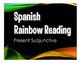 Spanish Present Subjunctive Stations