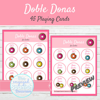 Spanish Present Subjunctive Tense Games Doble Donas