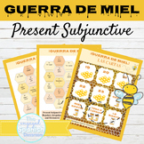 Spanish Present Subjunctive Tense Games GUERRA DE MIEL