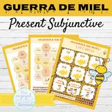 Spanish Present Subjunctive Tense Games GUERRA DE MIEL | W
