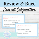 Spanish Present Subjunctive Tense Guided Notes and Word Ra