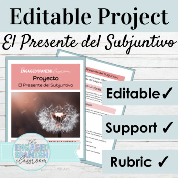 Spanish Present Subjunctive Tense Project for the Uses of WEIRDO