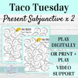 Spanish Present Subjunctive Activities | Digital or Print