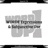 Spanish Present Subjunctive Uses (WORDE) Video Bundle (Dis