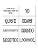 Spanish Present Subjunctive With Conjunctions Sentence Mixer
