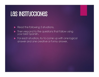 Spanish Present Subjunctive With Conjunctions Situations