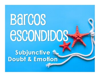 Spanish Present Subjunctive With Doubt and Emotion Battleship-Style Game