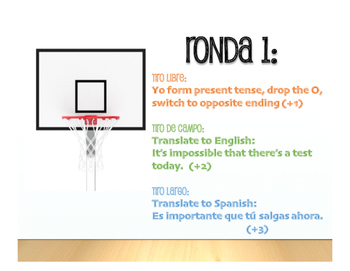 Spanish Present Subjunctive With Impersonal Phrases Basketball