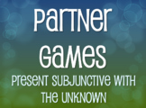 Spanish Present Subjunctive With The Unknown Partner Games