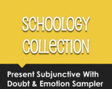 Spanish Present Subjunctive With Doubt and Emotion Schoology Collection