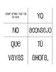 Spanish Present Subjunctive With Hope and Influence Sentence Mixer