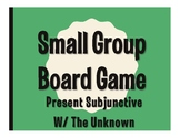 Spanish Present Subjunctive With the Unknown Board Game