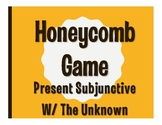 Spanish Present Subjunctive With the Unknown Honeycomb Partner Game