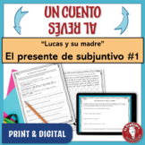 Spanish Present Subjunctive Writing Activity | Un cuento a