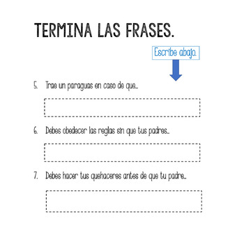 Spanish Present Subjunctive el subjuntivo Google Drive Activity