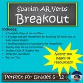 Spanish Present Tense AR Verbs - Breakout EDU