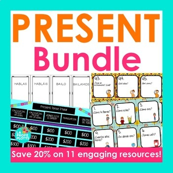 Spanish Present Tense Bundle