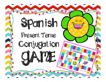 Spanish Present Tense Conjugation Game