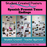 Spanish Present Tense Conjugations - Student Created Poster Project