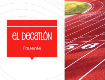 Spanish Present Tense Decathlon